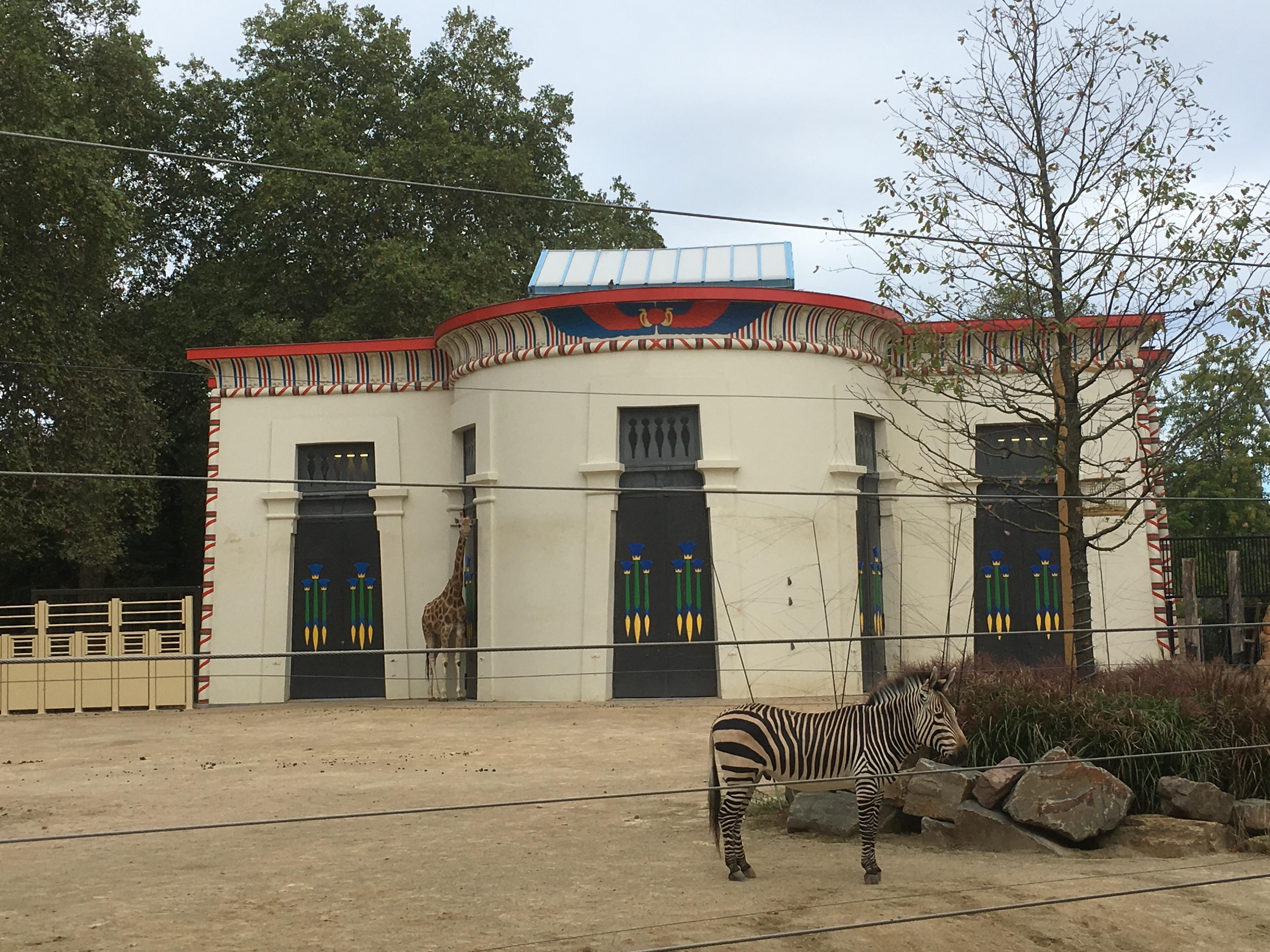 Opknapbeurt in de Zoo van Antwerpen